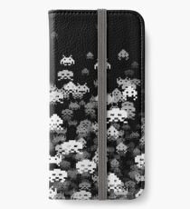 Invaded BLACK iPhone Wallet/Case/Skin