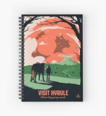 Visit Hyrule Spiral Notebook