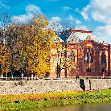 Philharmonic Orchestra Concert Hall of Uzhgorod by mike-pellinni
