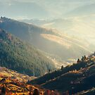 beautiful afternoon in mountains by mike-pellinni