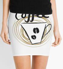 Coffee Mini Skirt