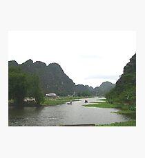 a stunning Vietnam landscape Photographic Print