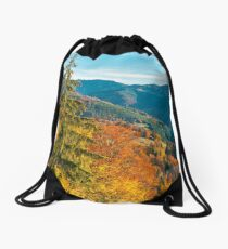beautiful autumn background Drawstring Bag