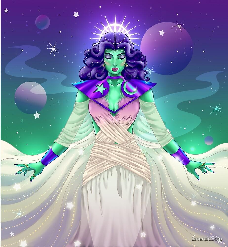 Star Goddess by EmeraldSora