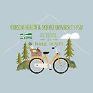 Logo Oregon Health & Science University-PSU by Judith Loske