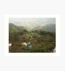 an exciting Vietnam landscape Art Print