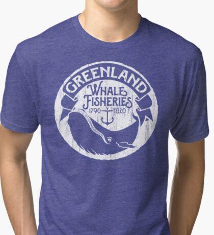 Greenland Whale Fisheries Tri-blend T-Shirt
