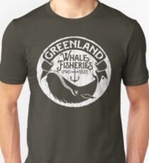 Greenland Whale Fisheries Unisex T-Shirt