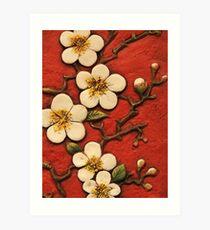 Chinese Blossom Art Print