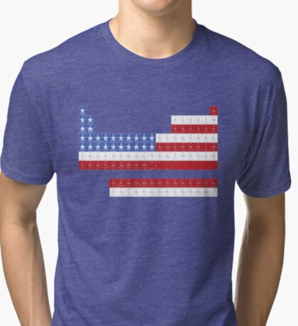 Patriotic Periodic Tri-blend T-Shirt