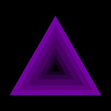 Violet Pyramid by HarizK