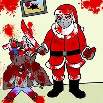 The Serial Santa  by stitchgrin