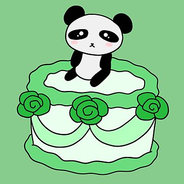 Birthday Cake Panda by SaradaBoru