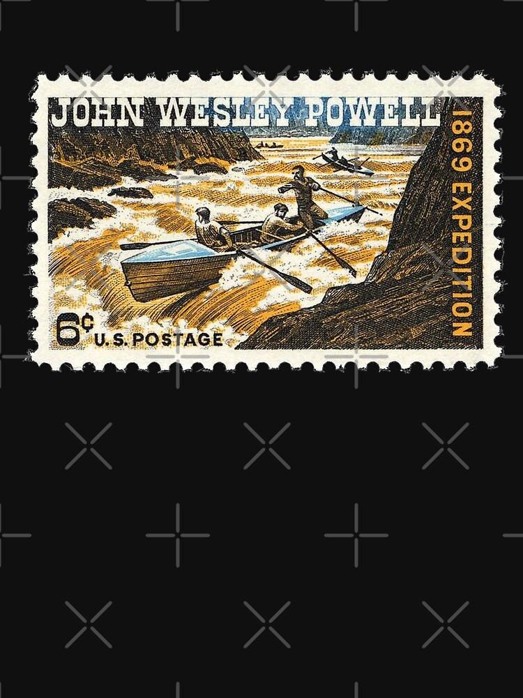 John Wesley Powell 6 Cent US-Briefmarke von cnkna