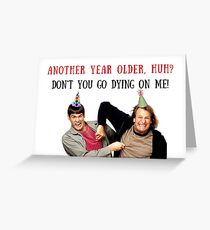 Dumb and Dumber Birthday, Jim Carrey, Jim Carry, meme greeting cards Greeting Card