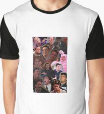 Chandler Bing Collage Graphic T-Shirt
