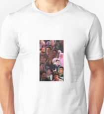 Chandler Bing Collage Unisex T-Shirt
