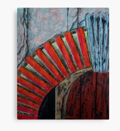 Drain Vent - Collage Canvas Print