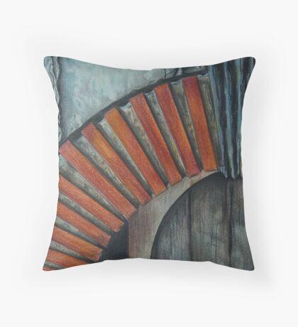 Drain Vent - Pencil Throw Pillow