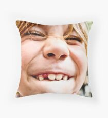 lost tooth Throw Pillow