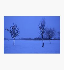 Snowy Countryside Photographic Print
