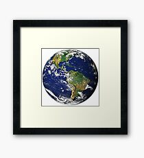 XXXTENTACION EARTH Framed Print