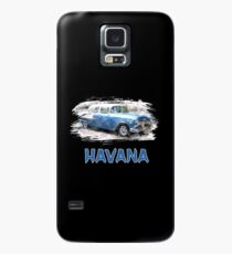 Havana classic car / gift Caribbean Havana Cuba Case/Skin for Samsung Galaxy