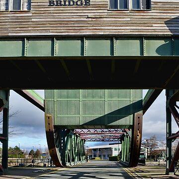 Egerton Dock Bascule Bridge by Retiree