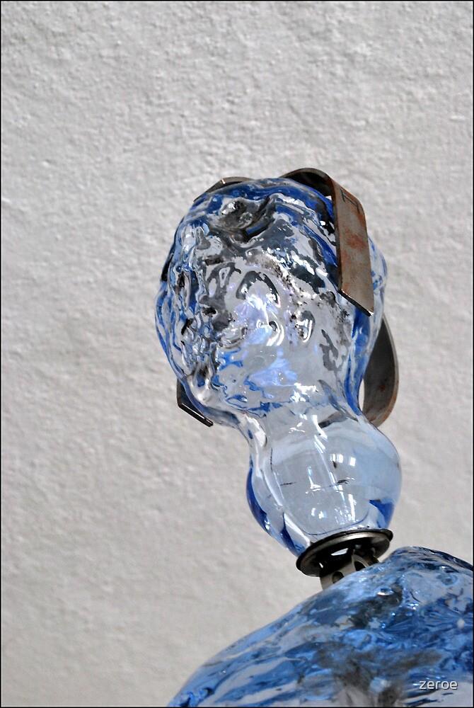 Crystal Skull by zeroe