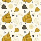 Autumn Leaves Pattern by zoljo