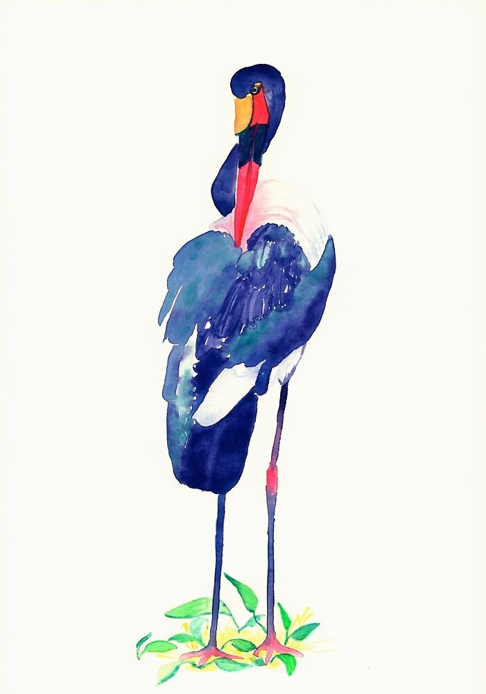 Stork by Artoutloop