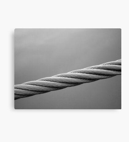 Floating Bridge 2 Canvas Print