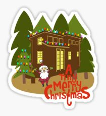 A Tiny Merry Christmas Sticker