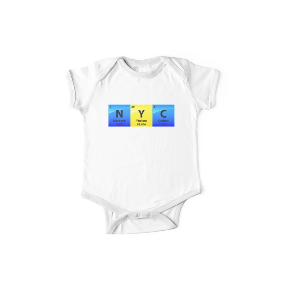 e1864103e4 NYC New York City Periodic Table Of Elements - Chemistry Quotes Gift ...