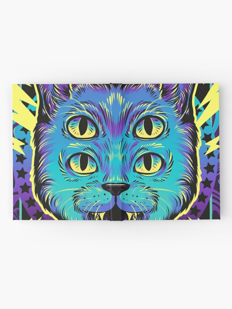 Alternate view of 4 Eye Cat Hardcover Journal