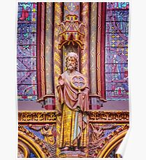 Stained Glass Magic of Sainte-Chapelle Poster