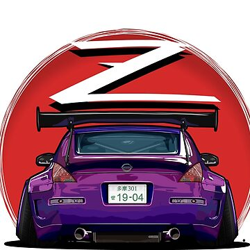 Nissan Fairlady 350Z Z33 (Midnight Purple) by osmancetinyapic