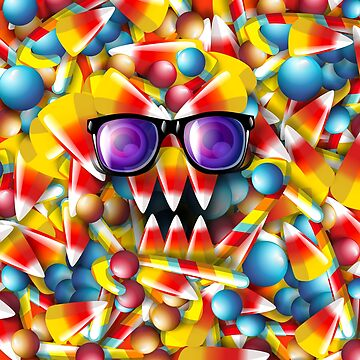 Candy Monster by fakeface