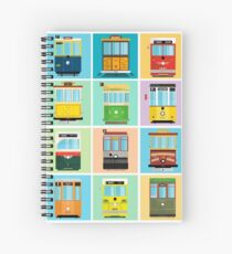 Streetcars of San Francisco Spiral Notebook