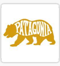 Pegatina oso amarillo