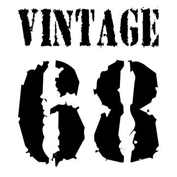 1968 Vintage Birthday T-Shirt by EK-Design24
