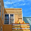 Orange House, The Mission District, San Francisco  by MARY-ANNandCO