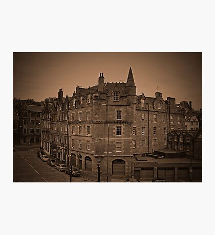 View of Edinburgh. Photographic Print