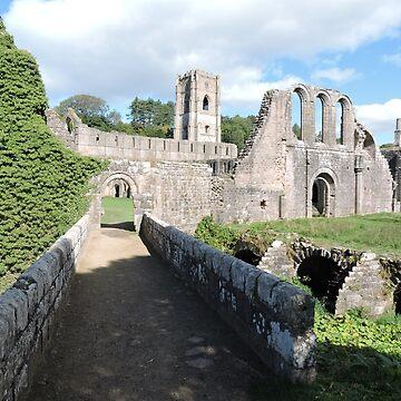 Fountains Abbey: Bridges & Arches  by CreativeEm