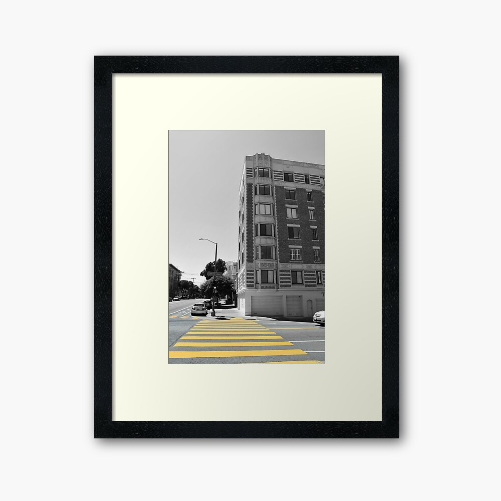Never Stop Hustling Framed Art Print