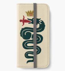 Alfa Romeo classic biscione / cross iPhone Wallet/Case/Skin
