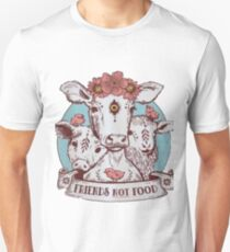 Cute funny Vegan shirt - friends not food Unisex T-Shirt