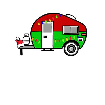 Christmas In The Camper Camping Shirt by tsunrisebey