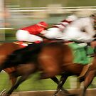 Abstract Horse Race by caqphotography