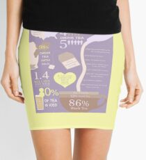 Tea Infographic Mini Skirt